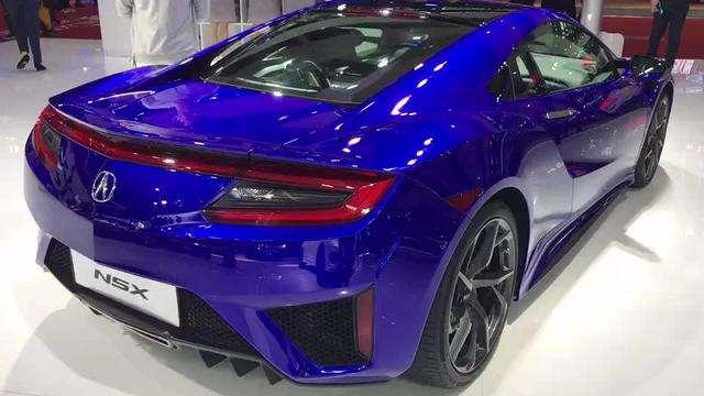 广州车展抢鲜看:讴歌NSX低调中的奢华,尽显品质