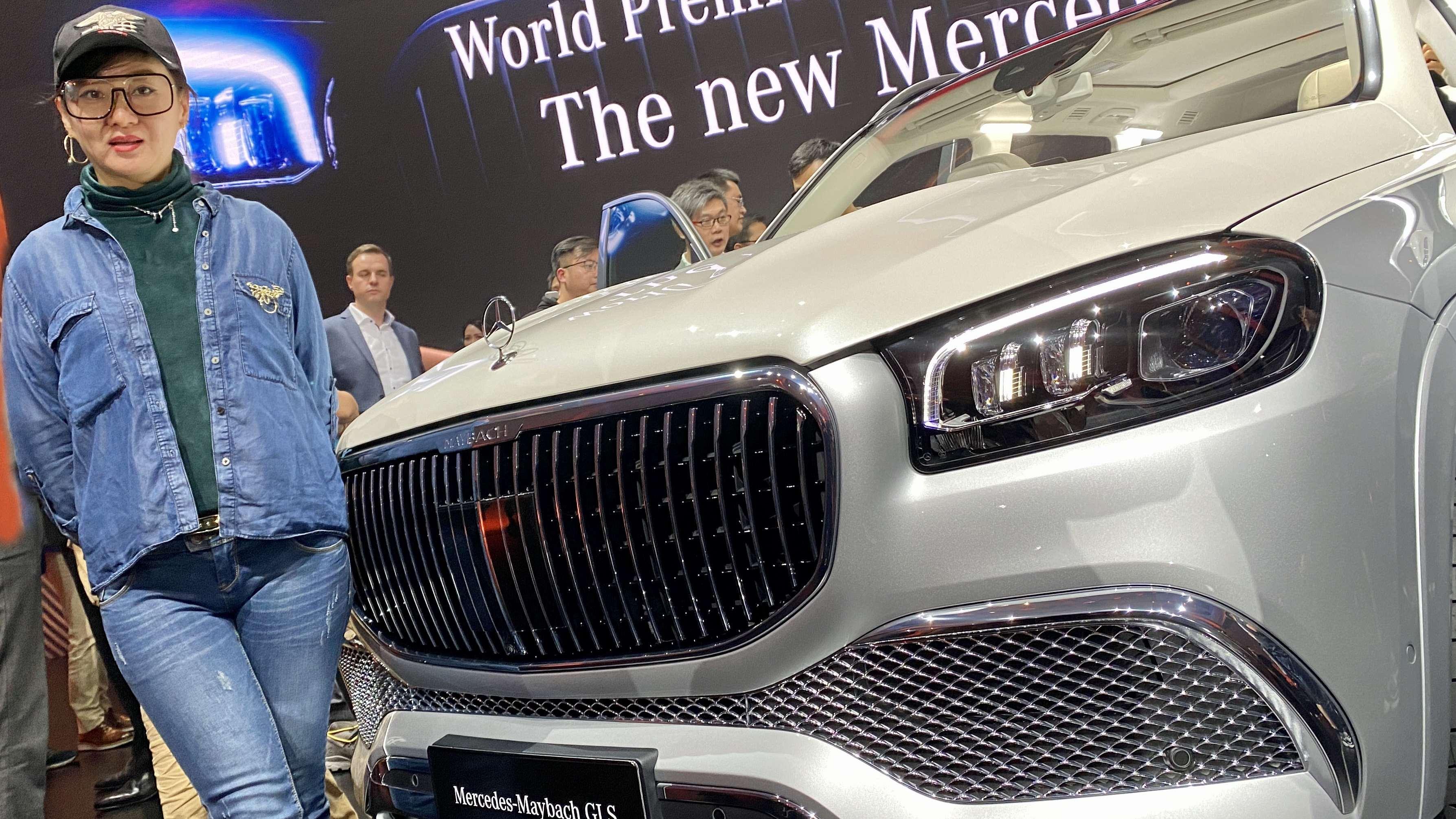 豪华SUV梅赛德斯-迈巴赫GLS全球首发