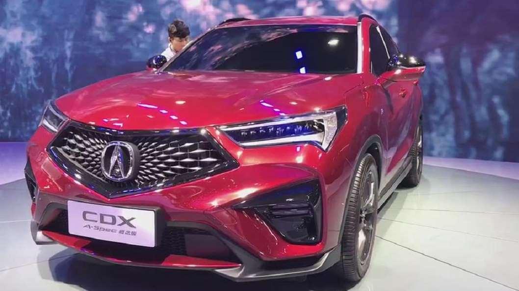 车展抢鲜看:广汽讴歌CDX A-pec概念版,最大215马力