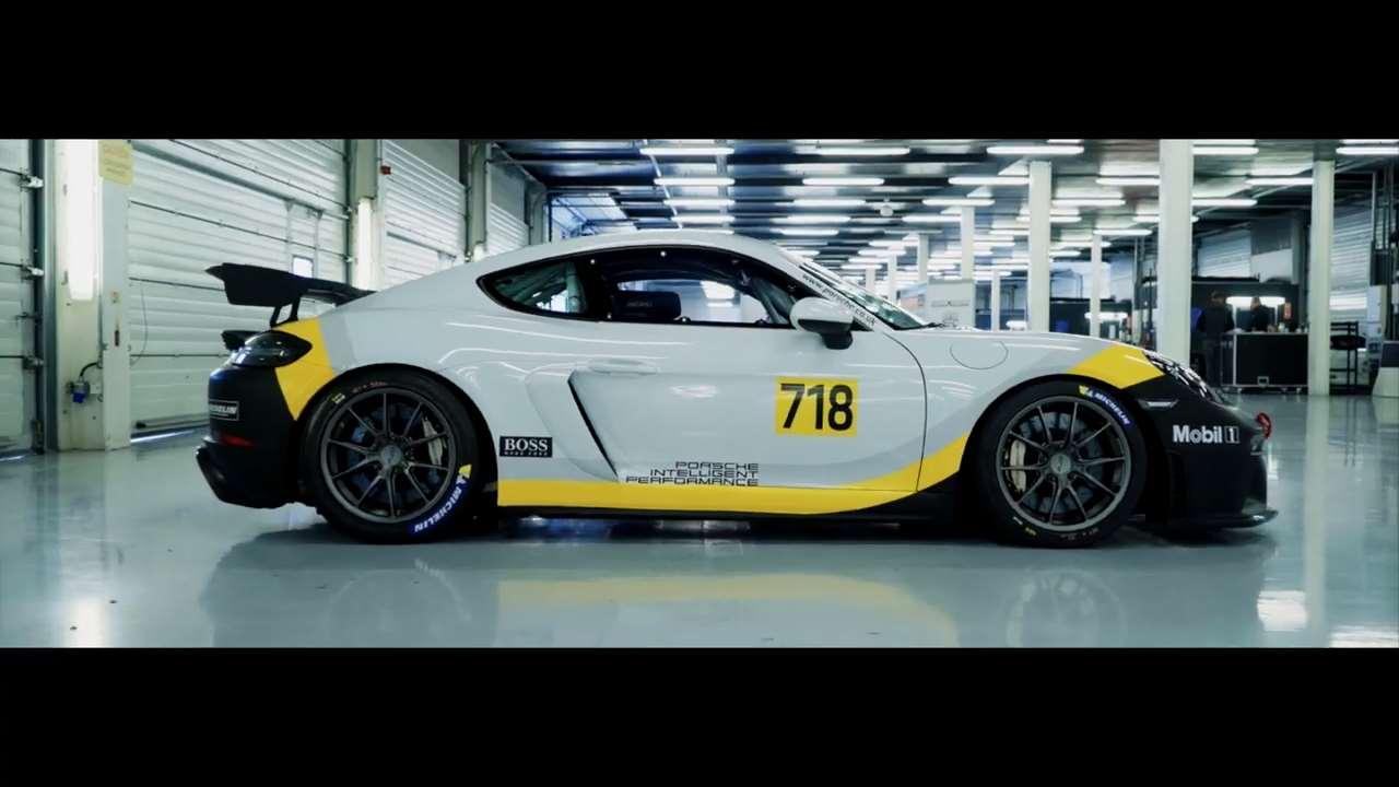 【视频】保时捷718 GT4英国冲刺挑战赛
