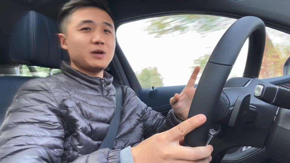 体验纯电SUV奔驰EQC后排空间道道的Vlog