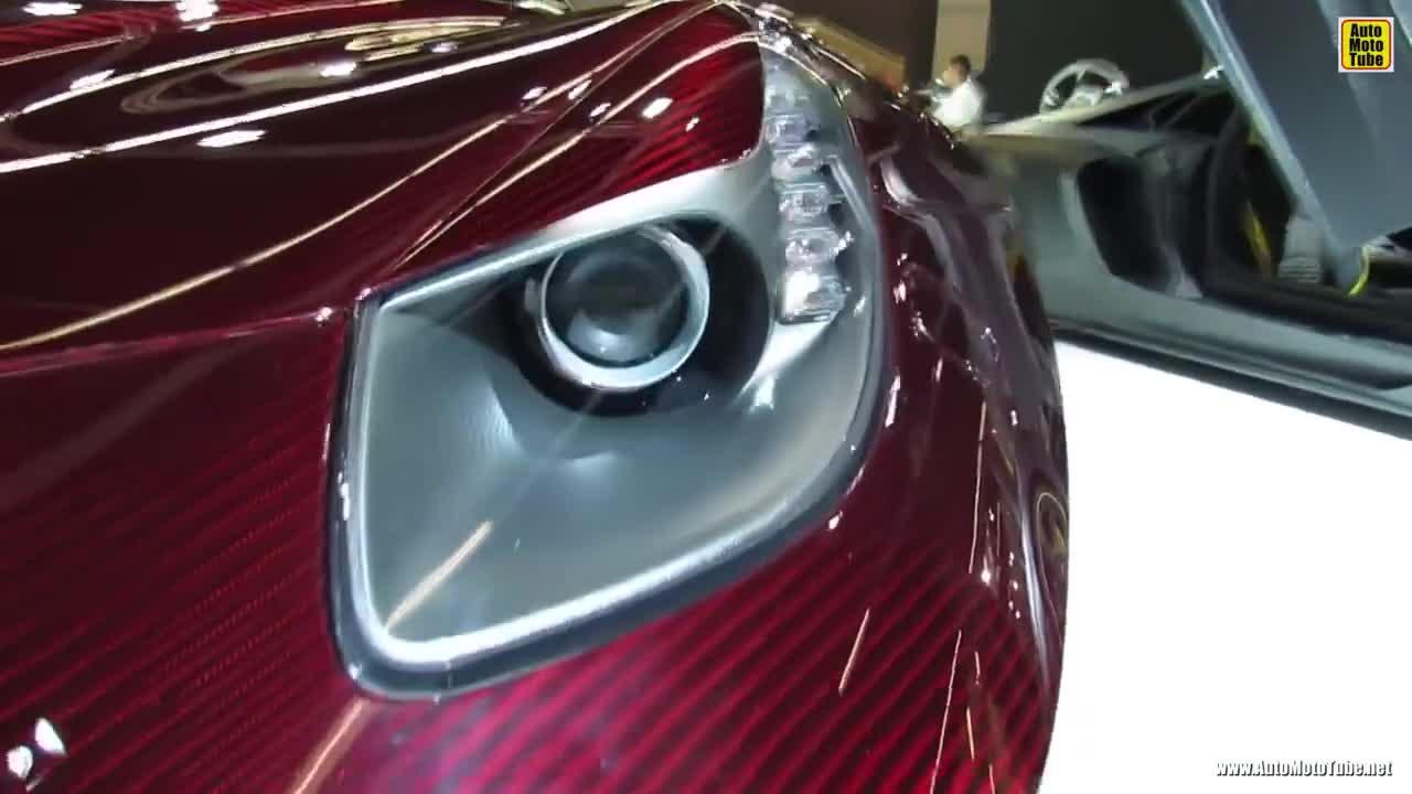 【视频】改装的法拉利F12 颜值简直无敌