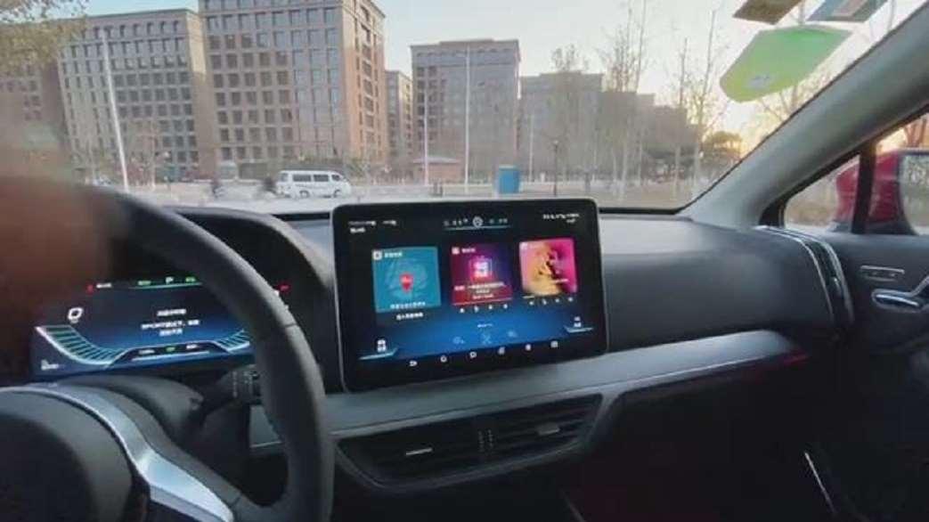 新车抢鲜看:比亚迪唐EV600中控屏,支持垂直旋,方便流畅