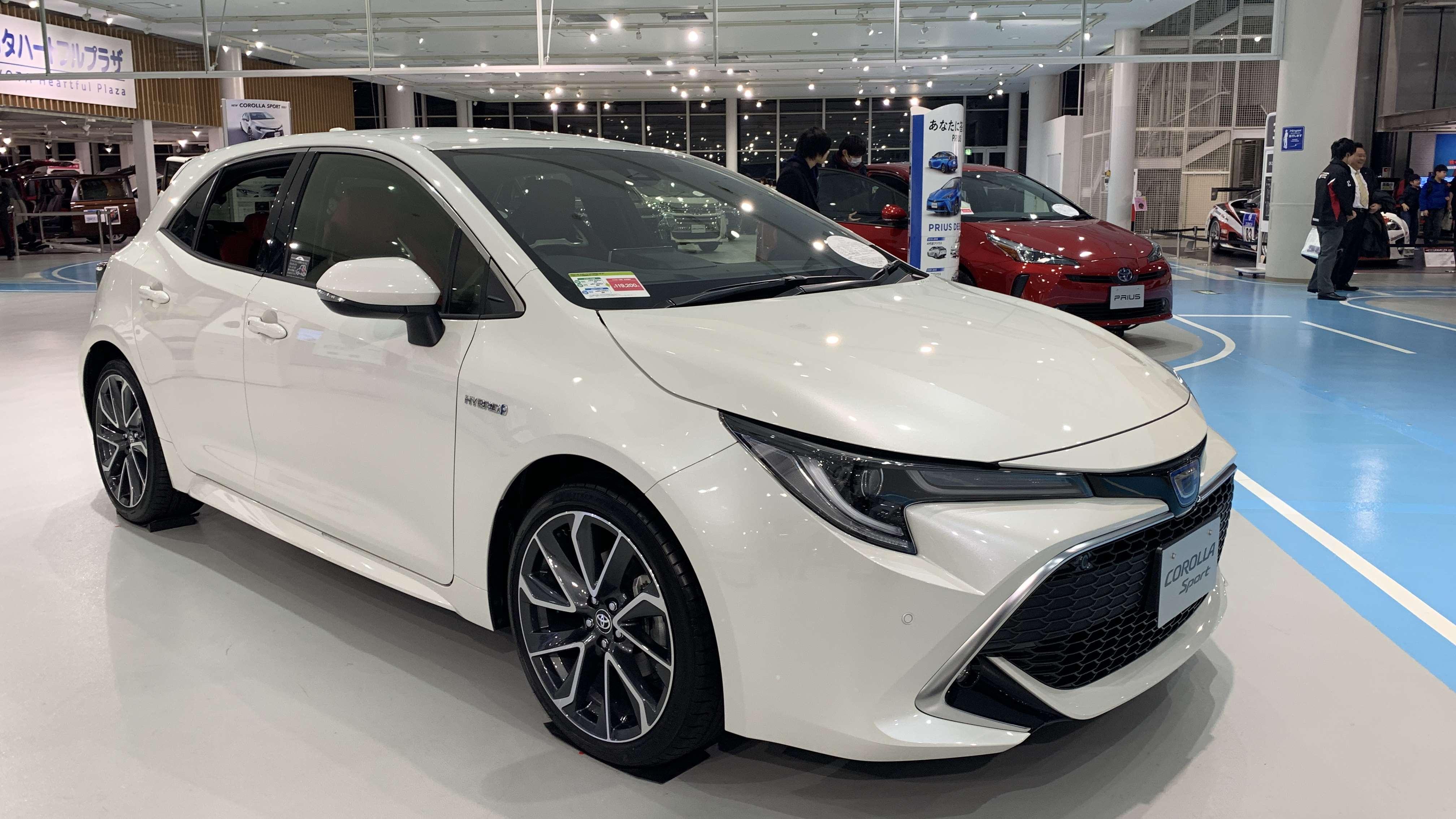 日本现场体验新一代丰田卡罗拉两厢