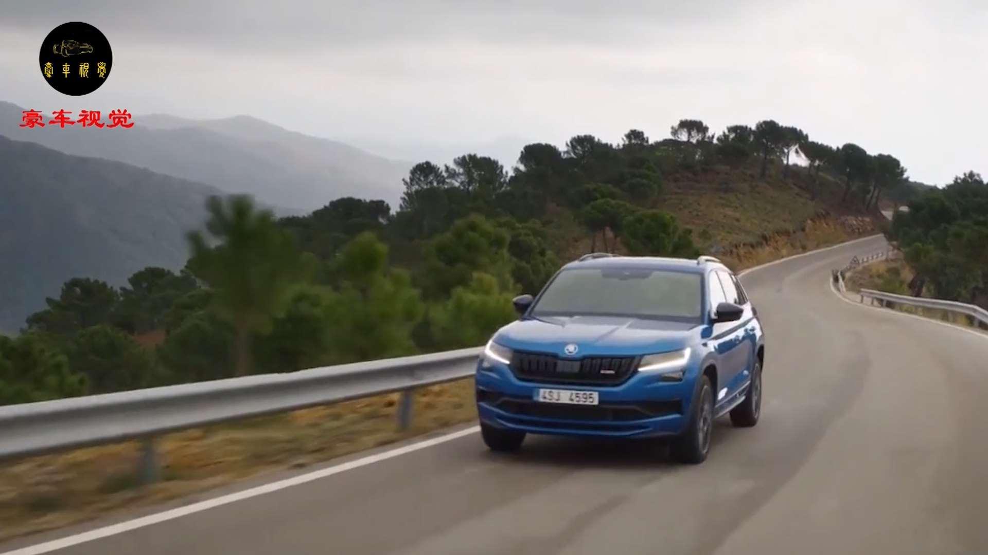 柯迪亚克RS的实车图曝光,搭载2.0T双涡轮柴油发动机