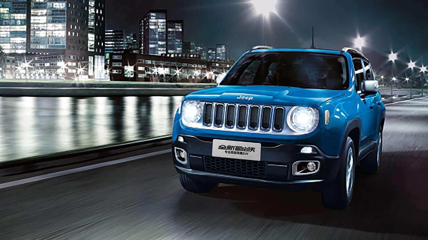 动感十足的专业级超驾趣SUV——jeep自由侠