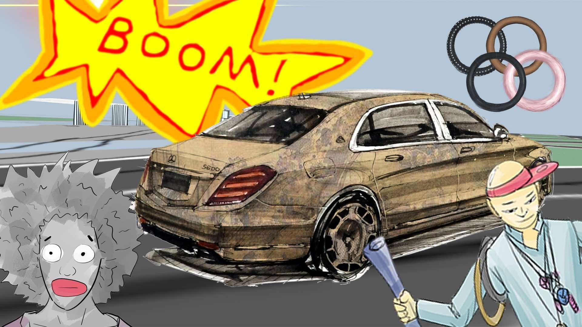 大炮评车:车内装潢毁所有