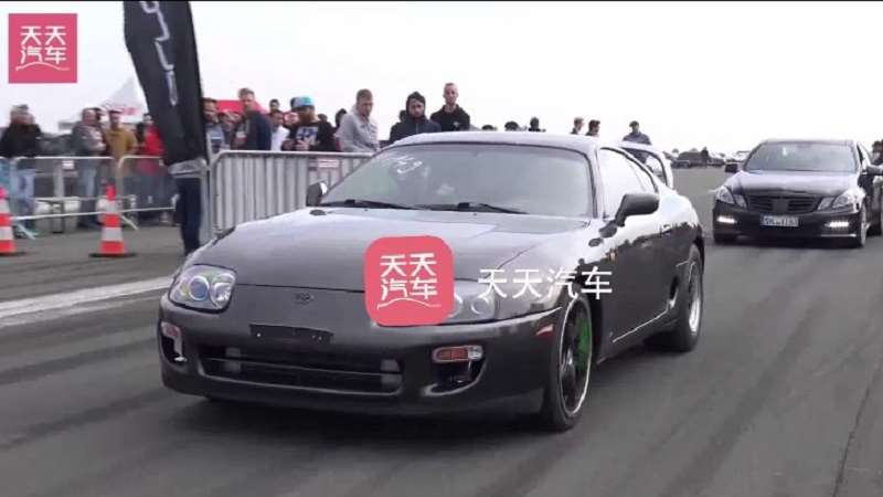 丰田Supra Turbo INSANE 0-296km_h弹射加速声浪