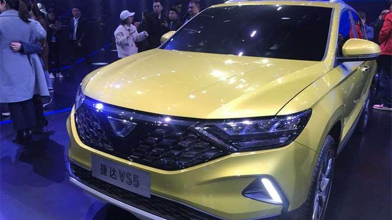 捷达品牌三款新车成都发布 紧凑SUV-VS5实拍