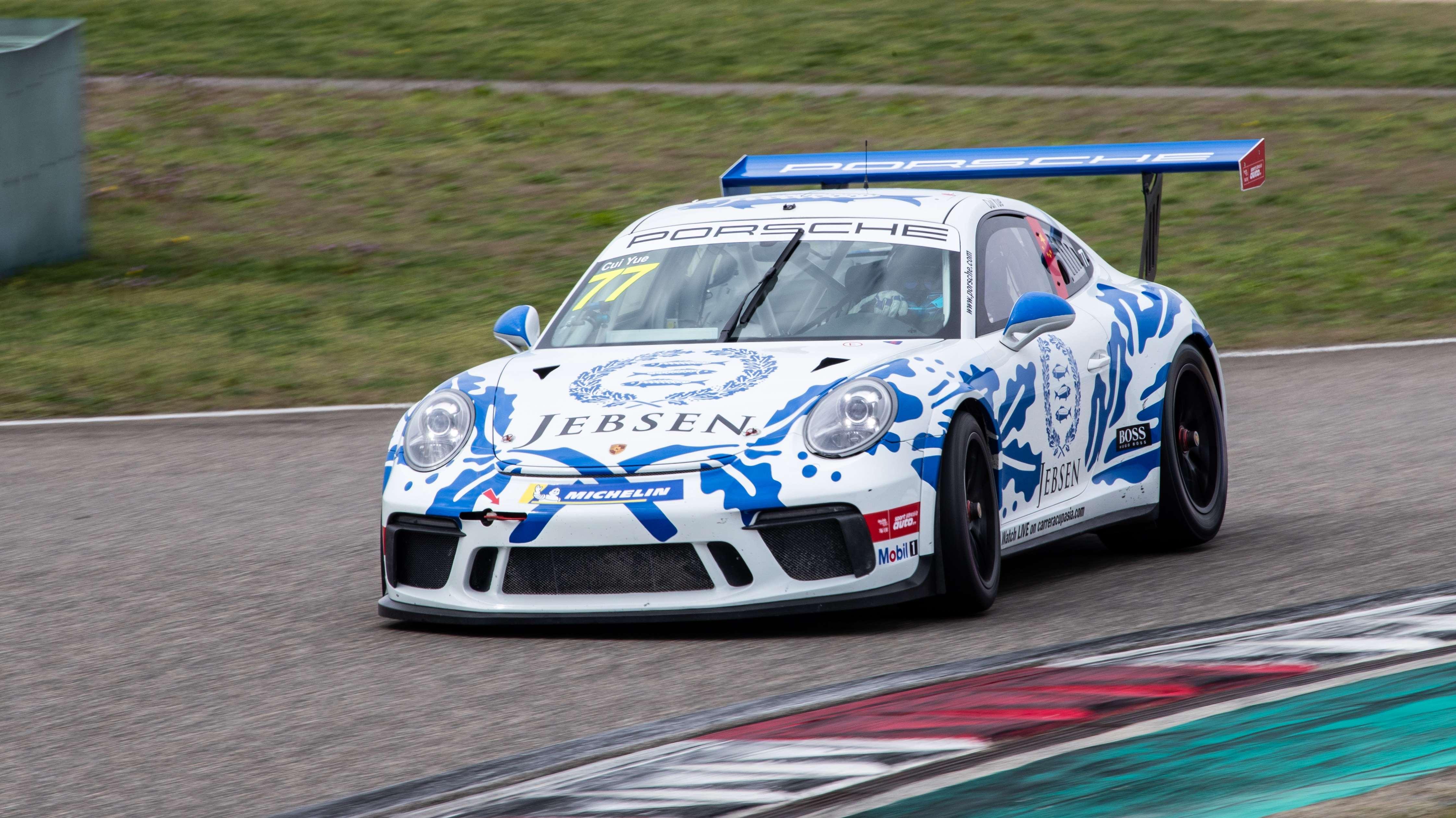 保时捷911 GT3上赛体验