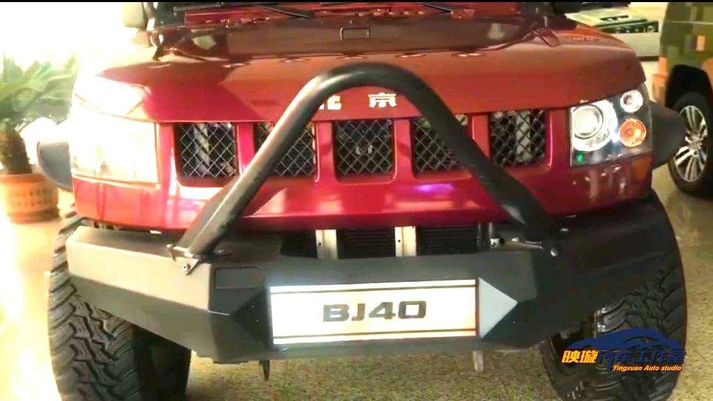 【战狼2】里的北京BJ40真车 从非洲拍完电影运回北京