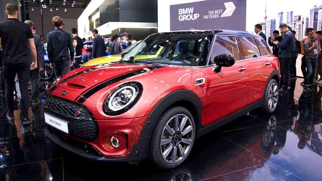 上海车展:新款MINI CLUBMAN全球首发