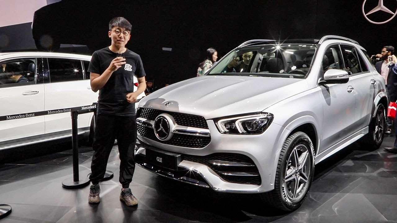 2019上海车展 韬客体验奔驰全新GLE