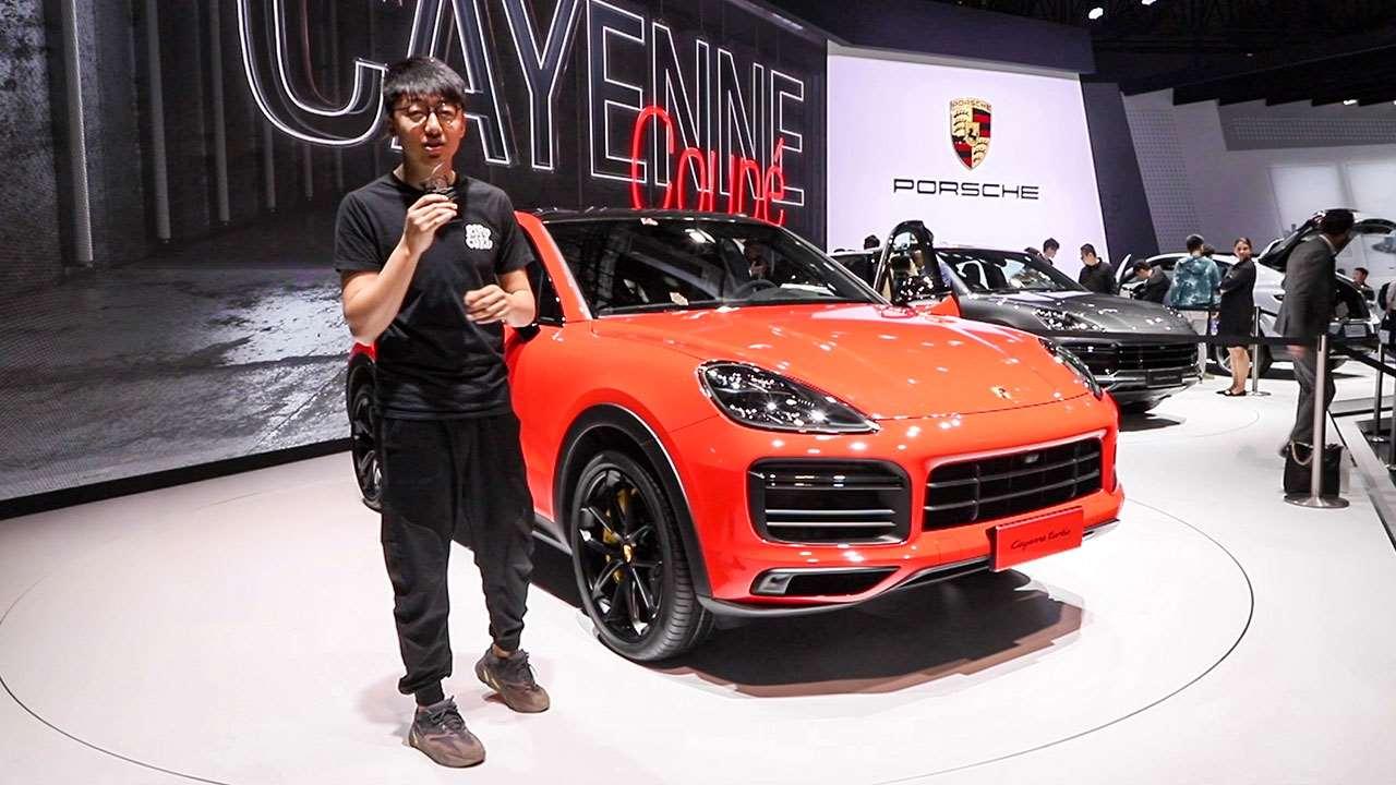 2019上海车展 韬客体验保时捷Cayenne Coupe