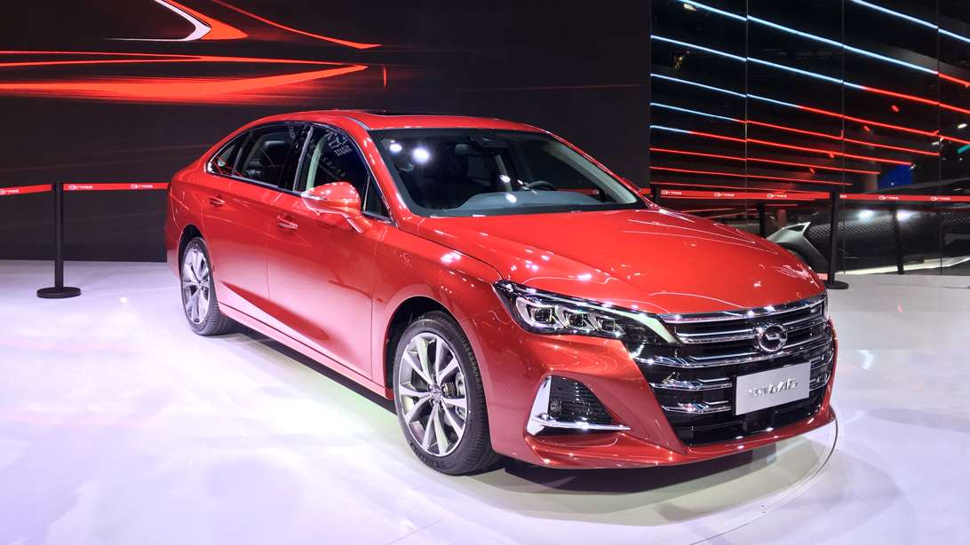上海车展:全新传祺GA6正式发布