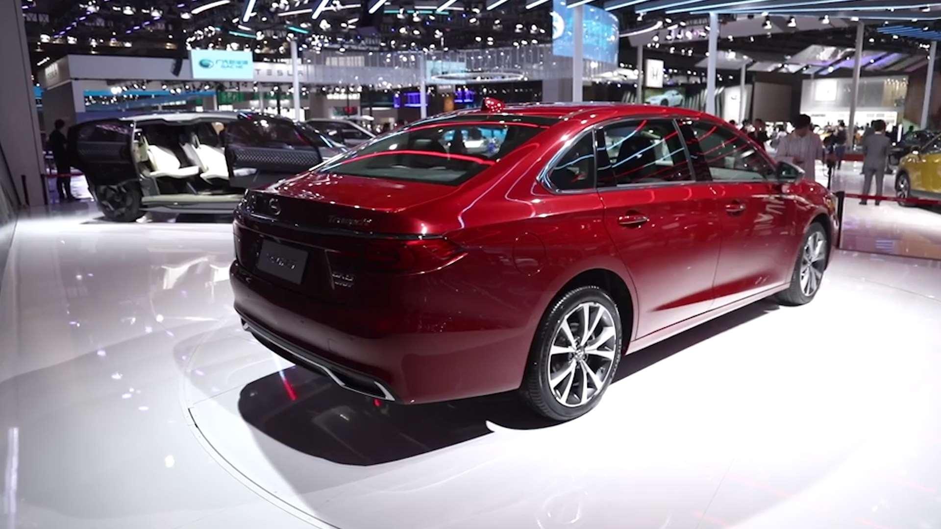全新GA6发预告图,上海车展首发,这个造型大家怎么样