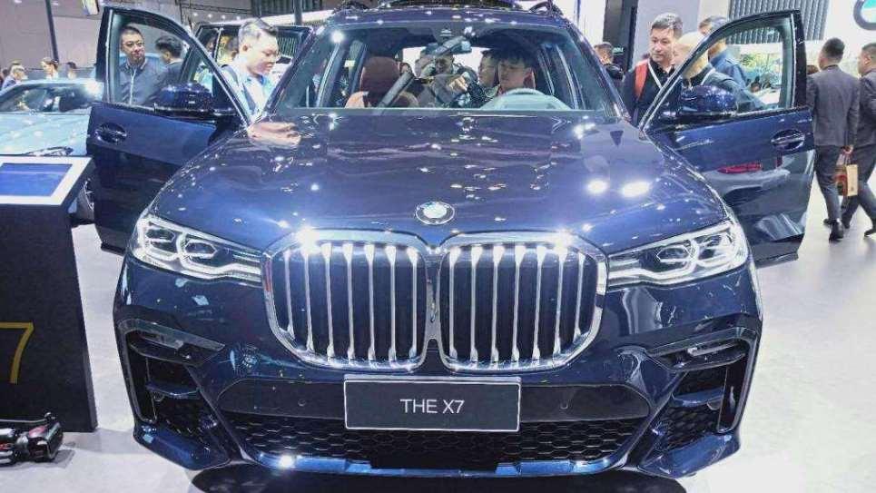 BMW X7亮相2019上海车展 百万豪车备受追捧