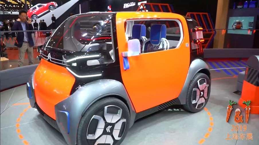 车展上最萌的一枝独秀,雪铁龙AMI ONE概念车实拍!