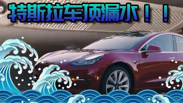 Model 3首批车被曝漏水?锐界ST、宝马X7上海车展亮相
