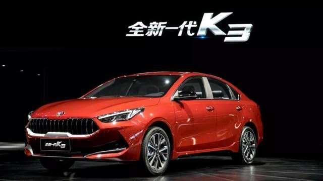 东风悦达起亚全新一代K3首发亮相上海国际车展