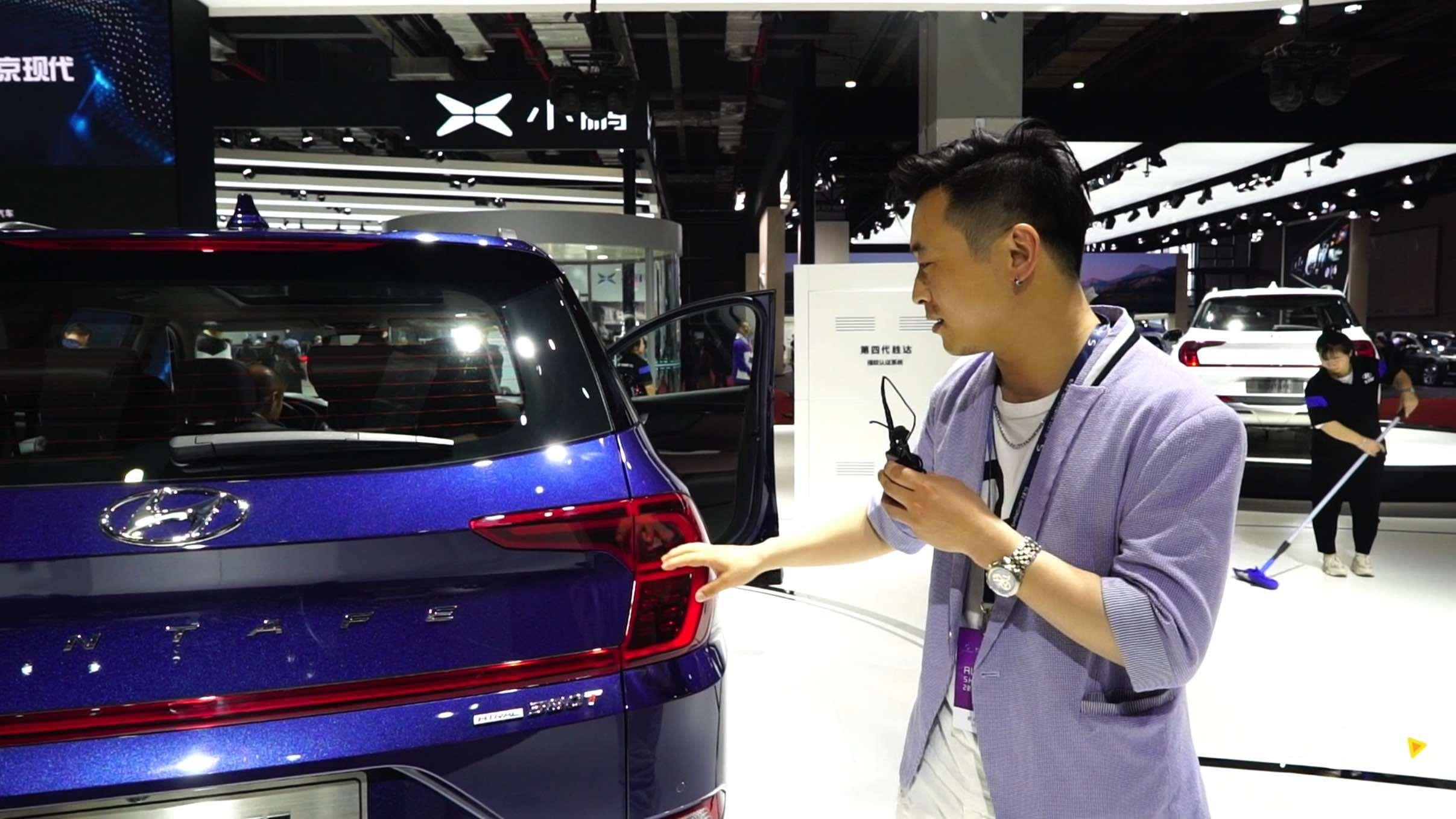 北京现代全新胜达亮相上海车展,这车有哪些优缺点?