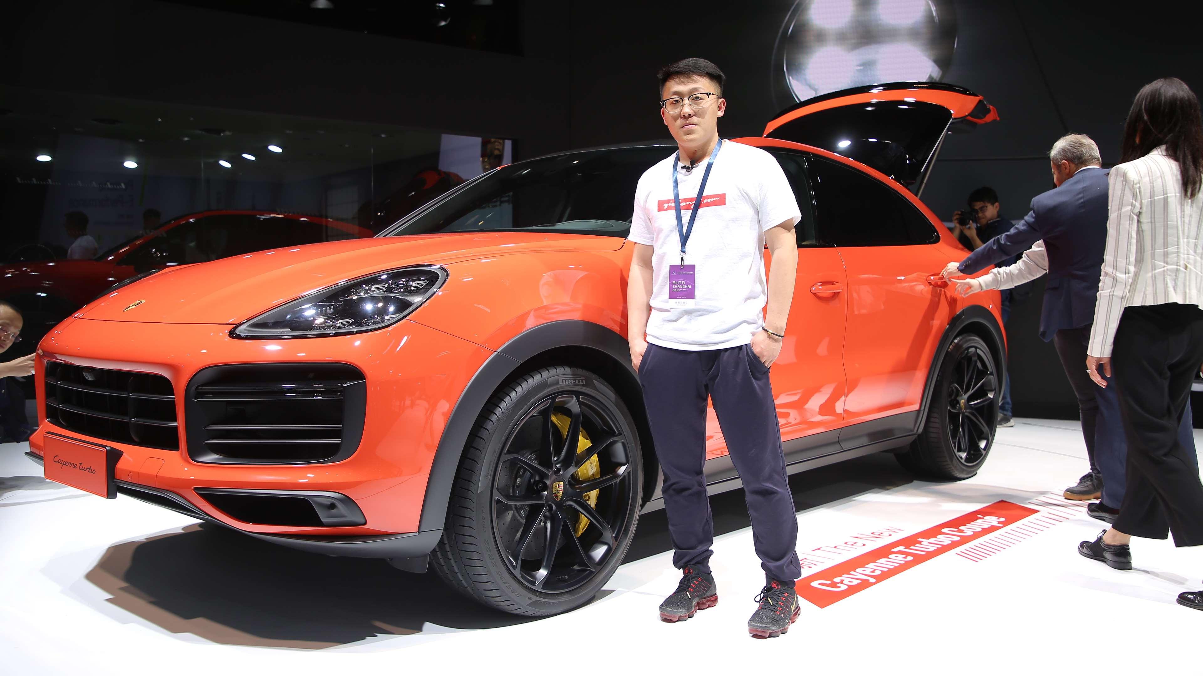 95后看新车:忘掉宝马X6 卡宴COUPE上海车展首发