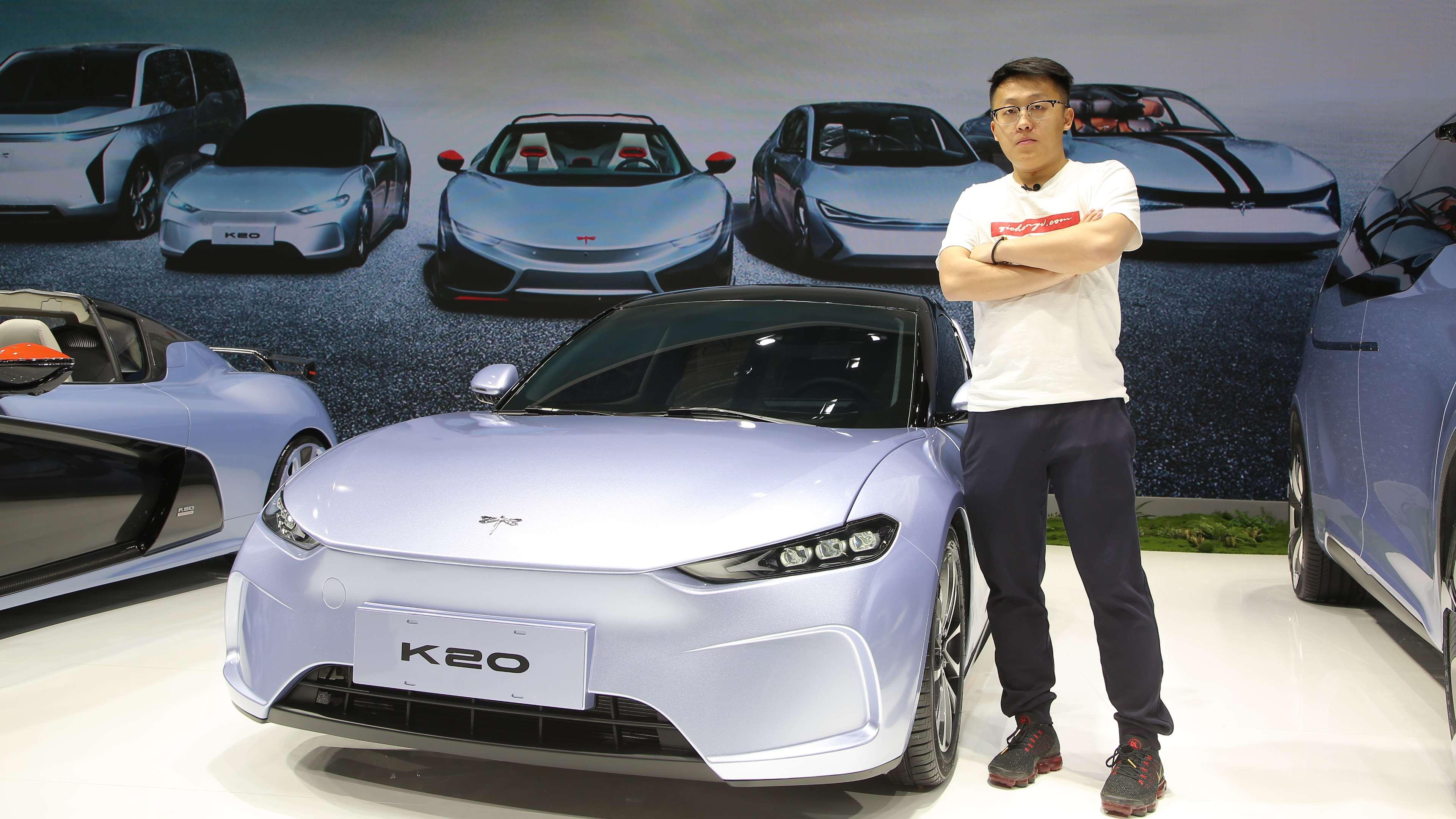 未来纯电代步车的雏形 前途K20正式亮相上海车展