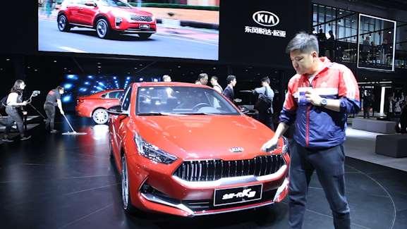 起亚全新一代K3外观运动内饰科幻,上海车展首发亮相