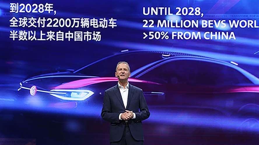 中国在大众汽车集团全球电动出行战略中发挥重要作用