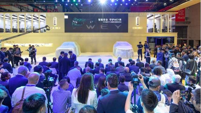 中国豪华SUV领导者WEY 推出全新概念车WEY—X