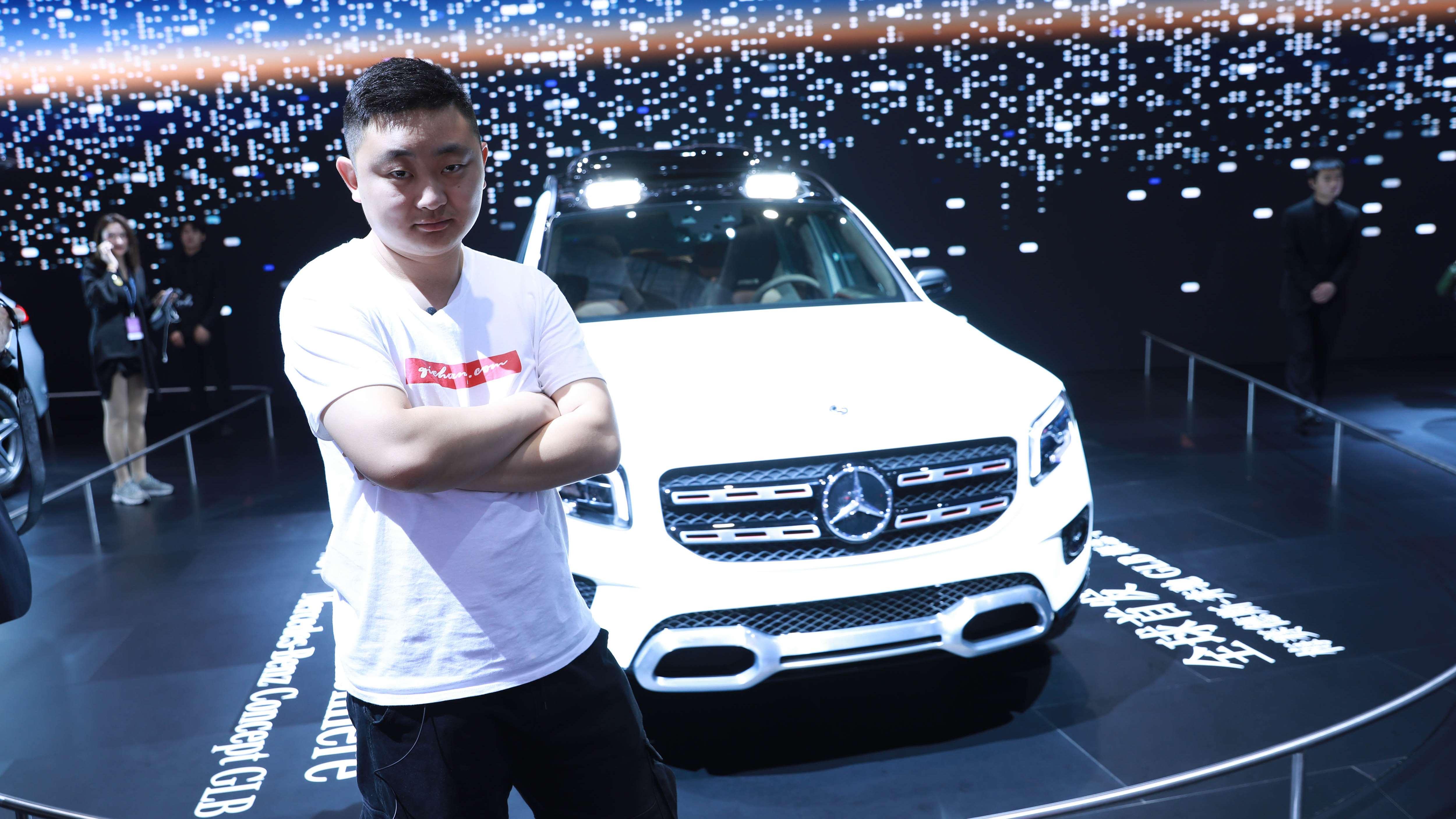 奔驰GLB概念车车展亮相,年底量产上市