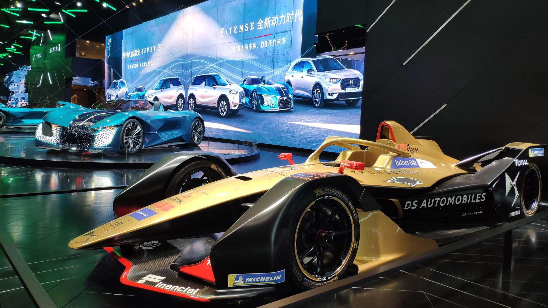 技术来源于FE领跑赛车的DS新能源车型香吗?