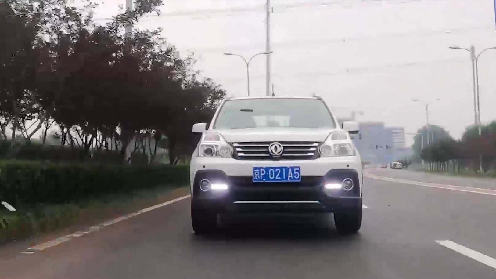东风风度MX6主打城市SUV,极高平顺性,安全舒适性强