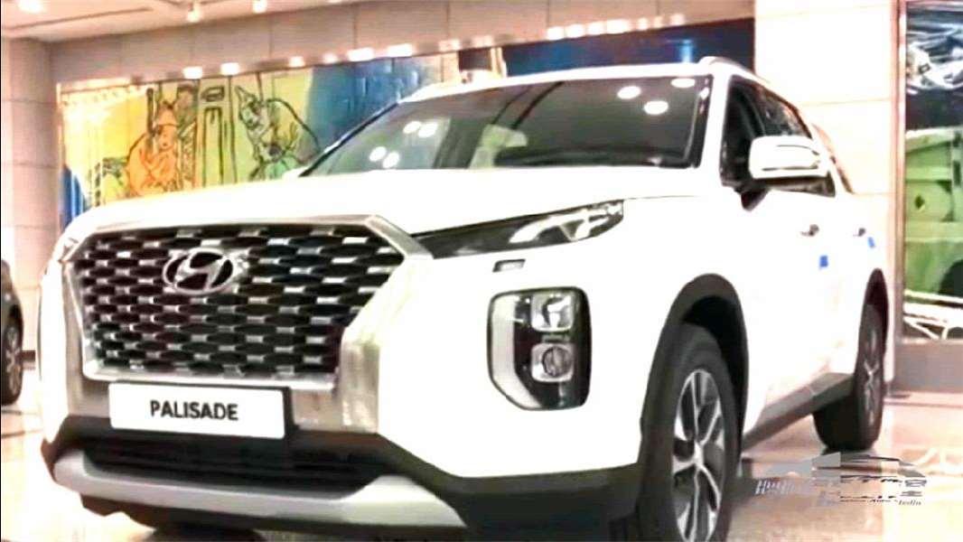 2020款现代大7座SUV实拍 Palisade即将引进