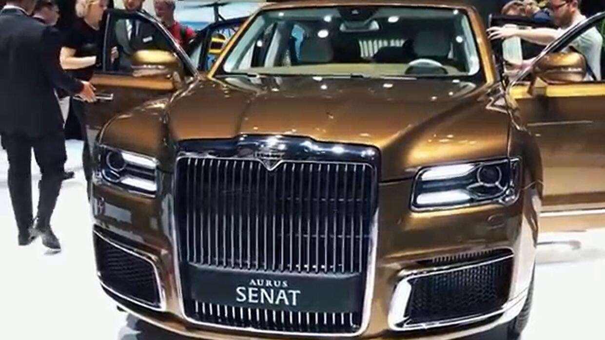 2020款AURUS Senat S600和L700豪华轿车实拍!