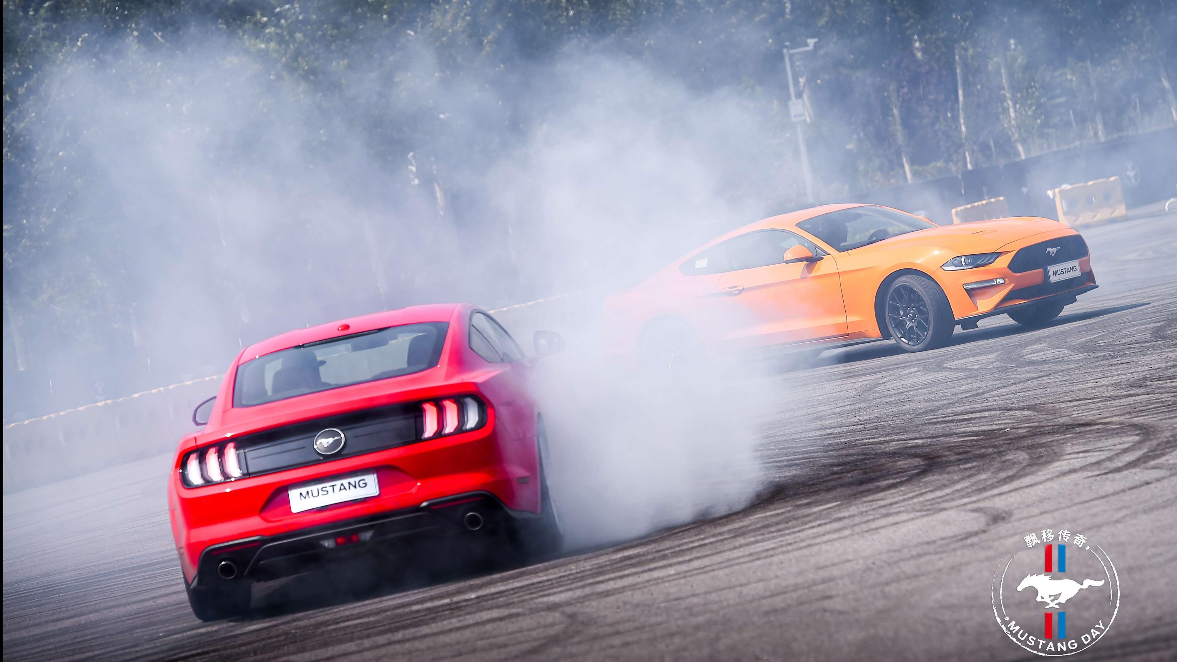 Mustang Day,带你一起玩漂移