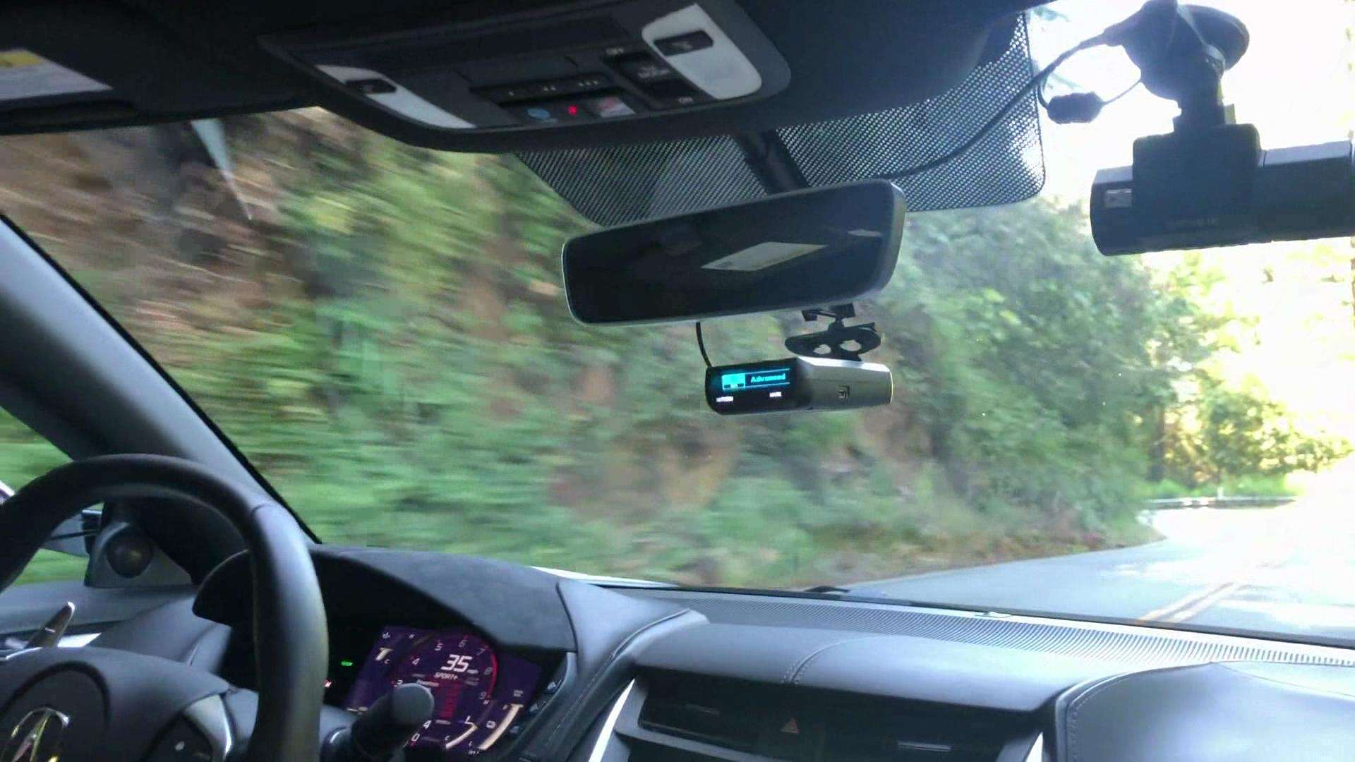 讴歌NSX跑山路,光是听声音就是一种享受
