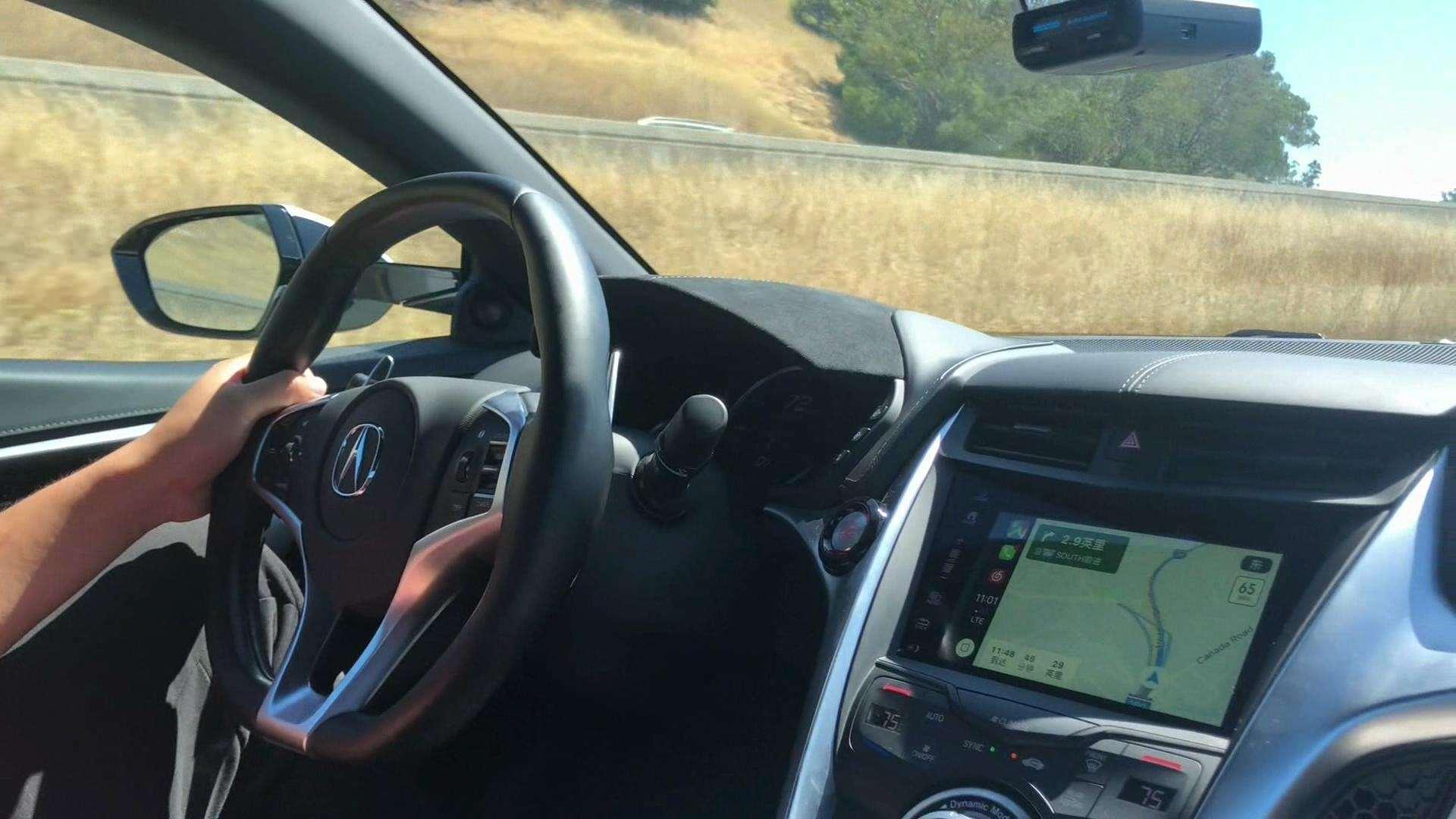 听听讴歌NSX全油门加速的声浪