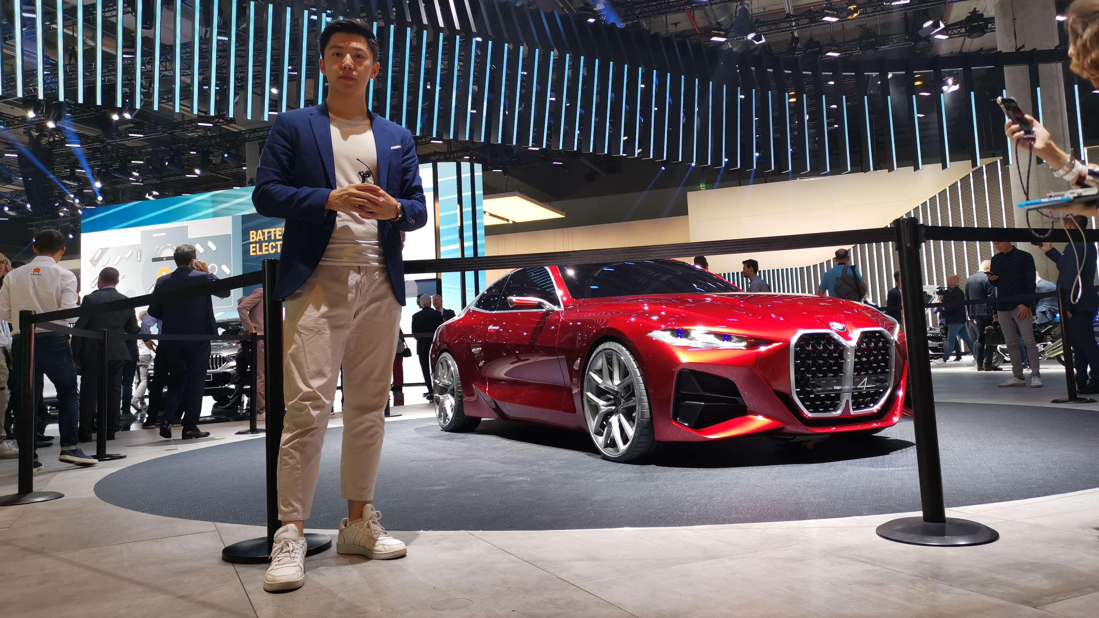 未来轿车设计方向 宝马4系概念车亮相法兰克福车