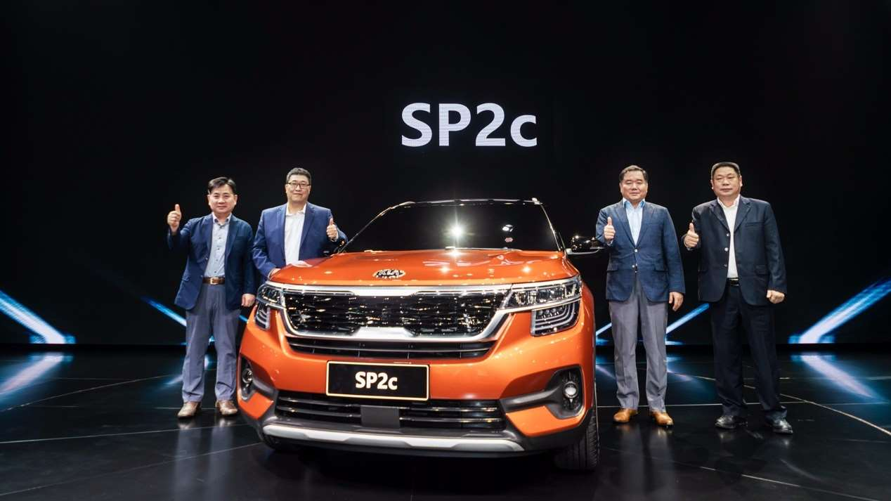 #十五万买啥车#SP2c首发、起亚全系车型登场