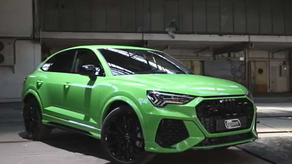 全新2020款奥迪RS Q3,百公里加速是4.5秒