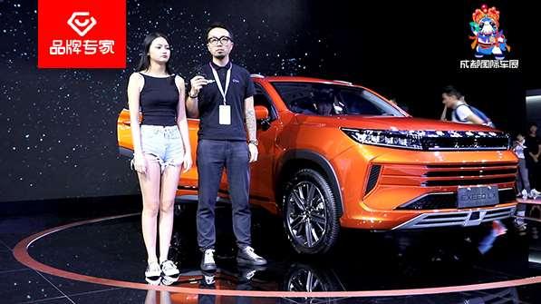 高端自主智能SUV的代表 与小姐姐一起体验星途LX的科技魅力