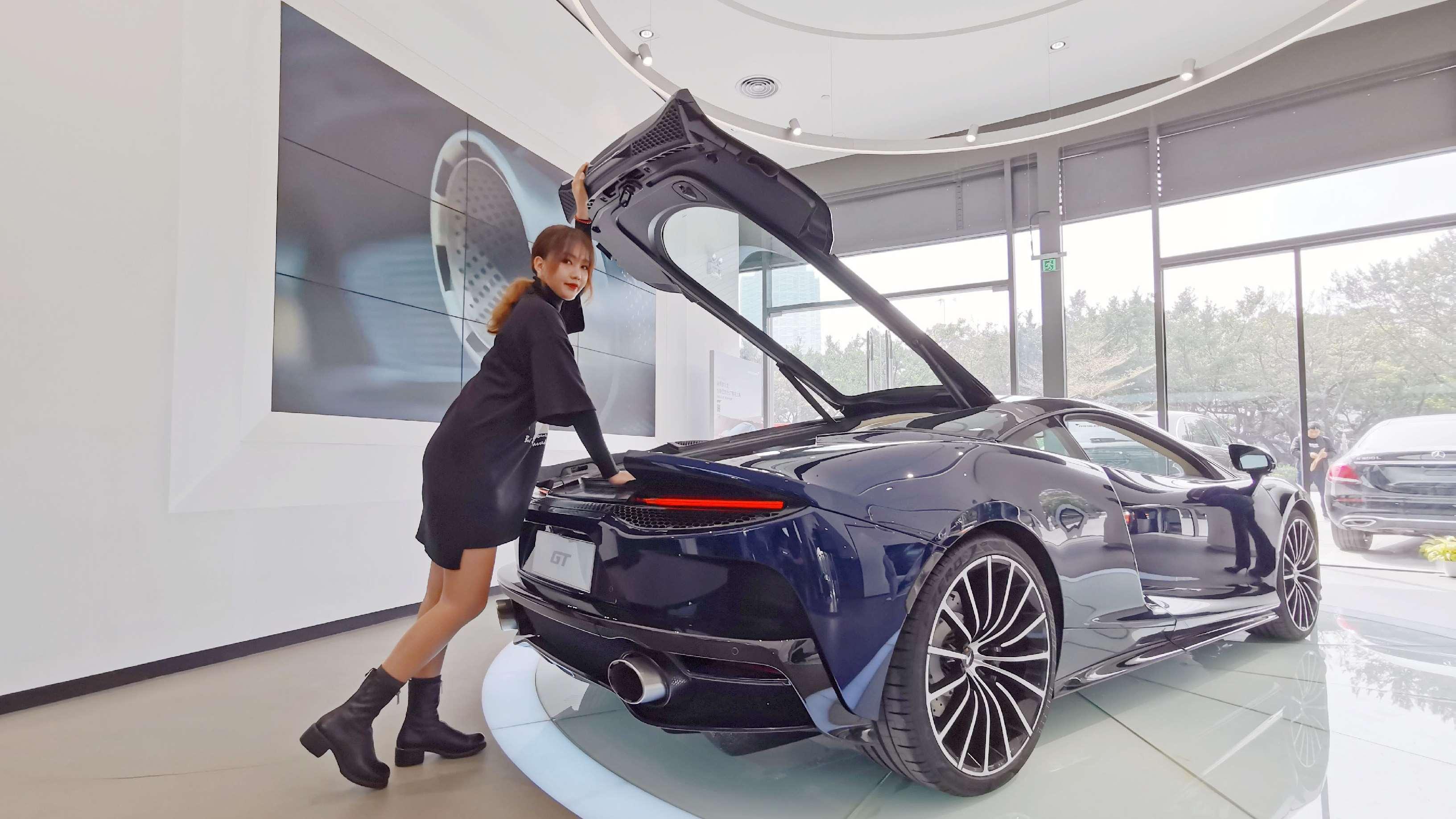 只要198.8万!最便宜最舒服的迈凯伦GT跟你回家