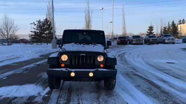 2008年Jeep牧马人,祝您新的一年里驰骋在成功的道路上