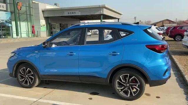 抢鲜看:全新名爵SUV轮毂设计,米其林轮胎,运动十足