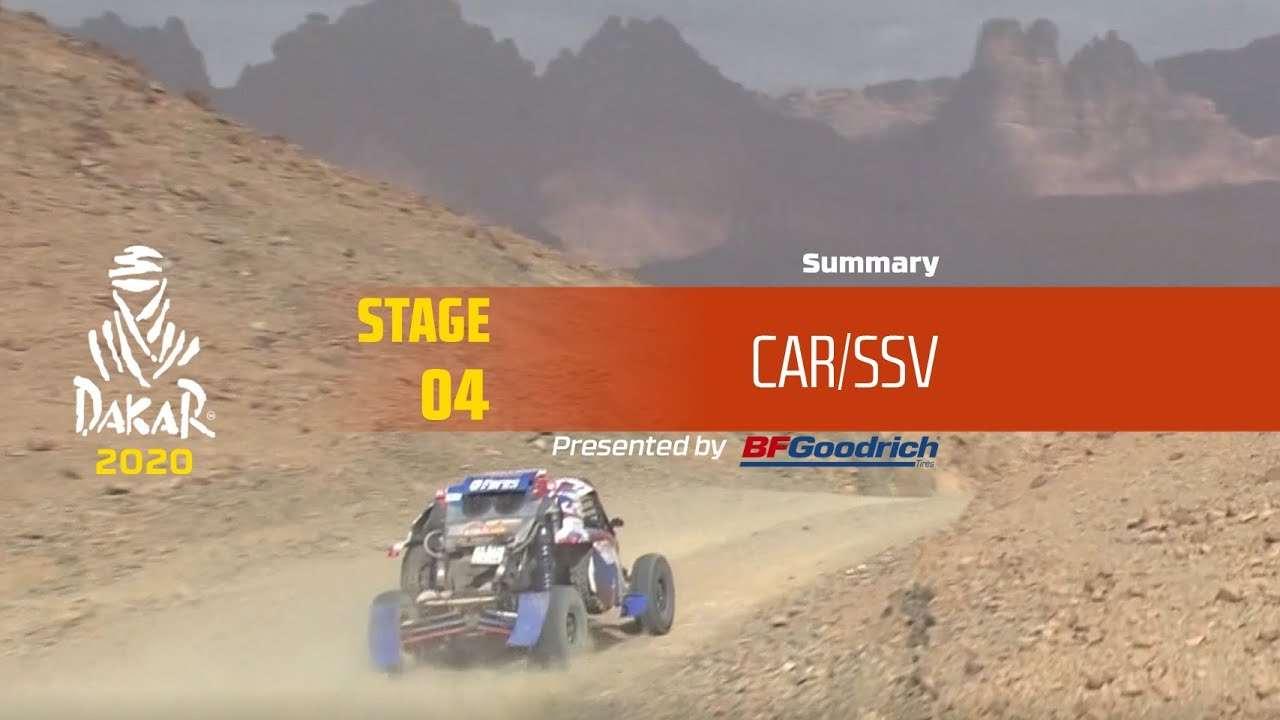【视频】达喀尔 Dakar 2020!Stage 4 汽车/SSV 组精华