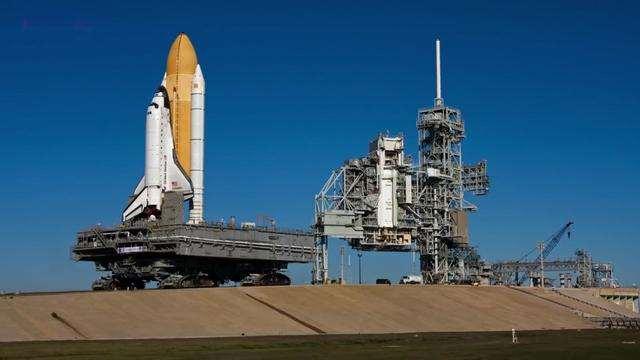 速看!NASA运送航天飞机的汽车视频流出!