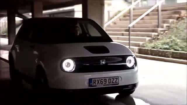 本田首款无后视镜的纯电汽车