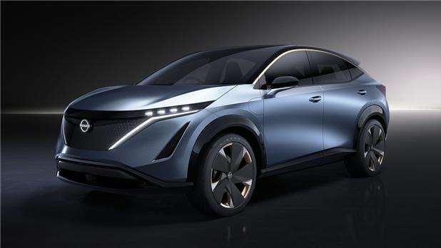 搭载双电机 日产Ariya纯电动跨界概念车智能更进一步