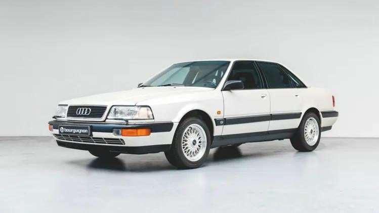 奥迪A8前身,一台30年前的奥迪V8现在只能买A6了
